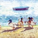 Nine Ducks